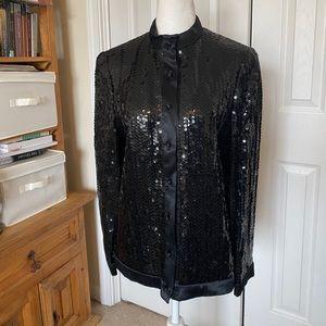 Vintage Abe Schrader Sequin Jacket